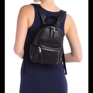 French connection mini backpack black